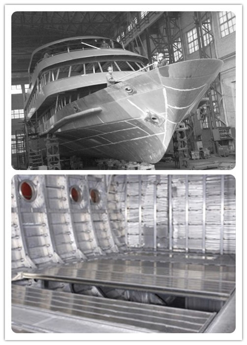 High Hardness 5083 H321 Aluminum Plate For Marine Vessel Good Processability