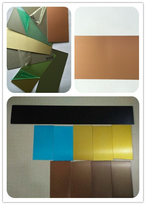 8011 H14 Grey Thin Anodized Aluminum Sheet Metal , 1.5mm Thick ...
