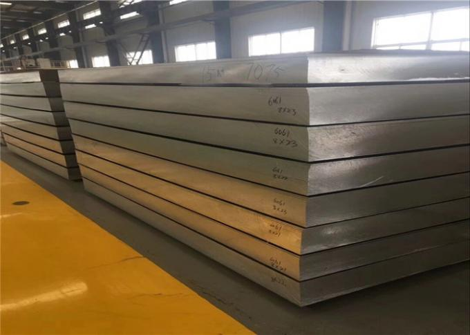 Thick 7150-T77511 Aircraft Aluminum Plate Excellent High Pressure Resistance