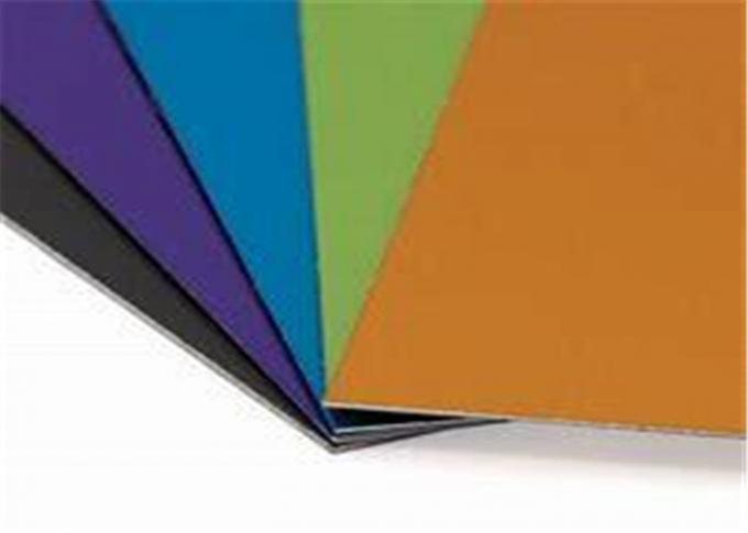 5052 Coated Colored Anodized Aluminum Sheets , Building Black ...