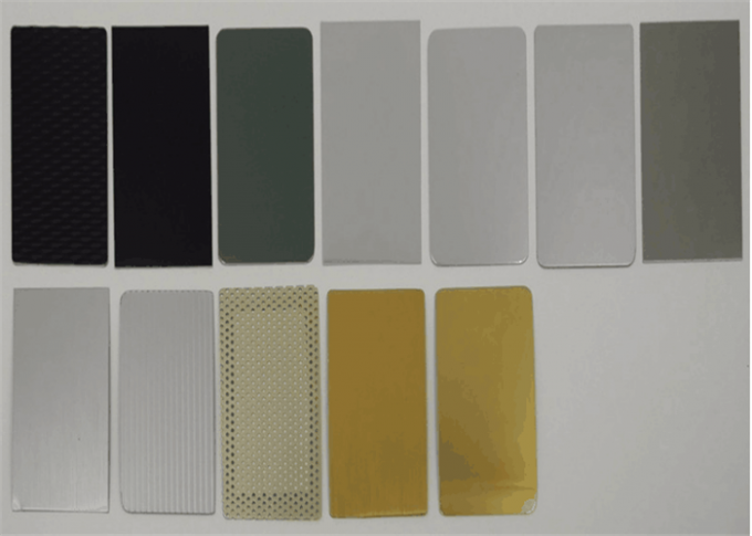 5 Series Anodized Aluminum Plate 1.5mm Thickness Single / Double Side Anodized