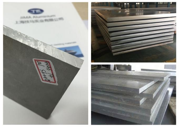EN AW 5183 Aluminum Alloy Plate AlMr4.5Mn AlMr4.5 Great Corrosion Resistance