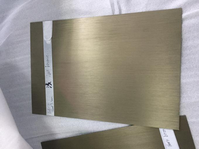 Black Pre Anodized Brushed Mirror Finish Anodized Aluminum Sheet 800 - 2650mm Width