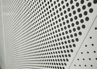 Decorative Perforated Aluminum Sheet 5005 For The Curtain Wall / Electric Conductor