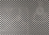 China 2.5mm Hole Diameter Perforated Aluminum Panels , 5052 Aluminum Mesh Sheet factory