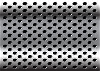 China Diamond 3mm 2mm Perforated Anodized Aluminum Panels ISO9001-2008 Standard factory