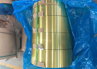 China Epoxy Hydrophilic Gold Aluminium Foil H22 For Air Conditioner Radiator factory