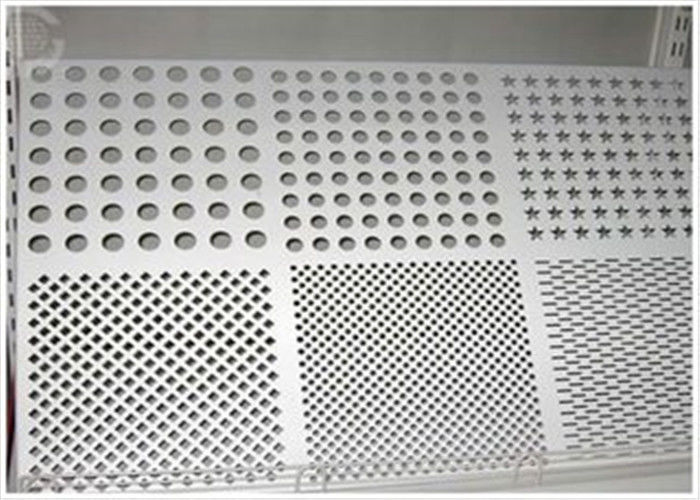 Round Hole Perforated Aluminum Plate , 3003 H14 Aluminum Sheet With Holes