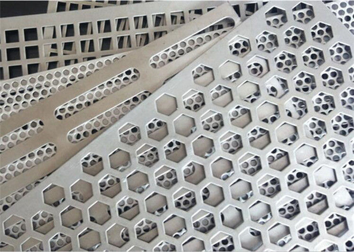 Square Holes Perforated Aluminum Sheet 1060 Thickness 3mm