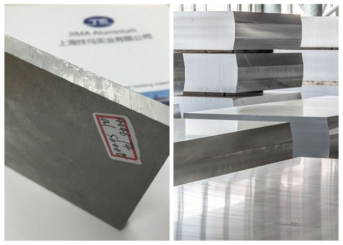 80mm Thickness 7075 Aluminum Sheet 150HB Hardness Good Solderability