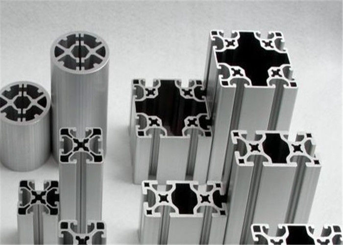 Heatsink extruded aluminum profiles 6105 T6 Aluminum Alloy High oxidation
