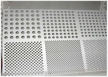 China Round Hole Perforated Aluminum Plate , 3003 H14 Aluminum Sheet With Holes factory