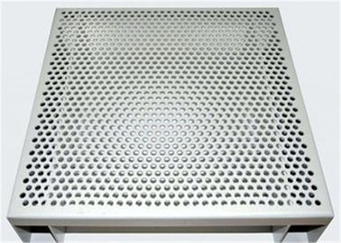 China Hexagonal 3003 H14 Perforated Aluminum Sheet For Acoustic Wall Panels factory
