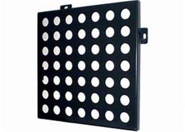 China Hex 6061 Aluminum Perforated Metal Sheet , 2mm / 3mm Decorative Perforated Aluminum distributor