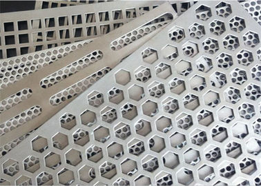 China Square Holes Perforated Aluminum Sheet 1060 Thickness 3mm Hole Diameter 0.5-6mm distributor