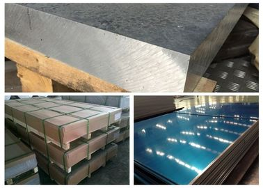 China Railway Materials Aluminium Alloy 5083 , A5083 LF4 Grade 5083 Aluminium Plate factory