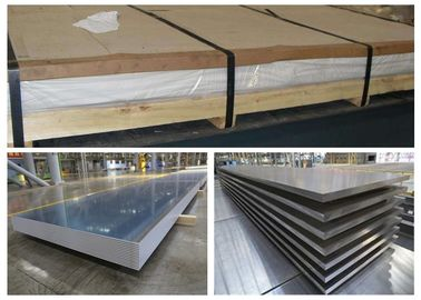 China Thin Alloy 6010 T4 Aluminum Sheet , Automobile Outer Plate Alu 6010 Plate factory